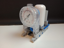 Набор LEGO MOC-20813 Pneumatic Gauge, Cylinder and Valve Build State 1