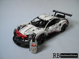 Набор LEGO MOC-20867 Porsche 911 RSR as RC-Version (42096)