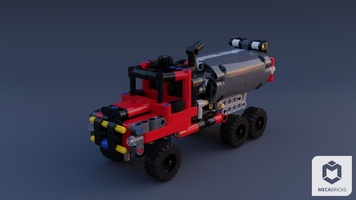 Набор LEGO MOC-20896 [Freemium] What would you do with 2x 42084? Not Again!