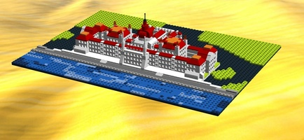 Набор LEGO MOC-20984 Architecture Hungarian Parliament