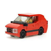 Набор LEGO MOC-20999 Small red hatchback
