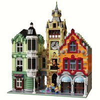 Набор LEGO MOC-21266 Modular Clock Tower Square