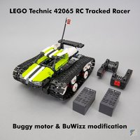 Набор LEGO MOC-21313 Technic 42065 RC Tracked Racer buggy motor and BuWizz upgrade