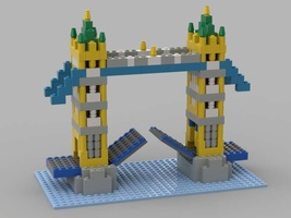 Набор LEGO MOC-21384 Tower Bridge