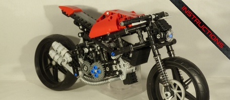 Набор LEGO MOC-21504 TECHNIC - DUCATI MONSTER 1200