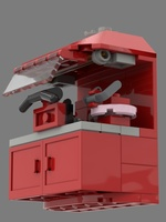 Набор LEGO MOC-21668 Triple-Head Skate Sharpening Machine