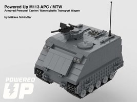 Набор LEGO MOC-21739 Powered Up M113 APC / MTW