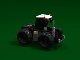 Набор LEGO MOC-21802 Claas Xerion 5000 v2.1 Black Edition