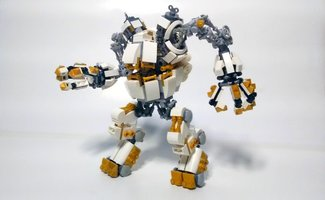 Набор LEGO MOC-21895 The Steam Egg Mech