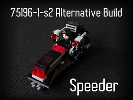 Набор LEGO MOC-21952 75196-1 -s2 Alternative Build: Speeder