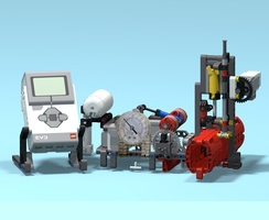 Набор LEGO MOC-21981 EV3 Intelligent Valve Positioner