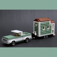 Набор LEGO MOC-22021 Tiny House and Chevrolet C10