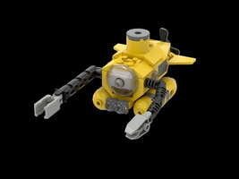 Набор LEGO MOC-22055 Exploration Submarine