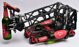 Набор LEGO MOC-22231 BuWizz powered BeerBot