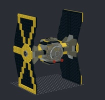 Набор LEGO MOC-22293 Mining Guild TIE Fighter