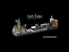 Набор LEGO MOC-22348 Harry ?otter Skyline Architecture