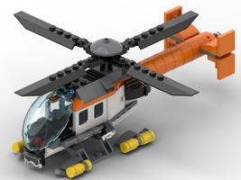 Набор LEGO MOC-22365 Helicopter Rescue (Notar)