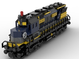Набор LEGO MOC-22446 Train Engine (Normal Size)