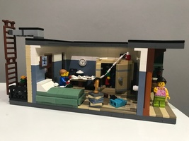 Набор LEGO MOC-22530 Young Peter Parker`s room