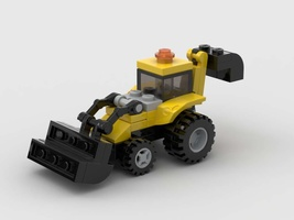 Набор LEGO MOC-22596 Mini Backhoe