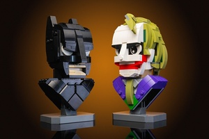 Набор LEGO MOC-22597 Dark Knight Bust Collection