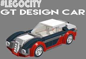 Набор LEGO MOC-5918 GT Design car