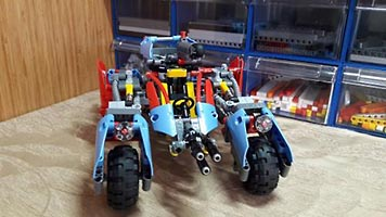 Набор LEGO MOC-5919 Borderlands Runner