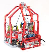 Набор LEGO MOC-5928 Lego Fast Braiding Machine