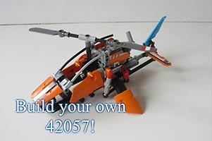 Набор LEGO MOC-5930 BUILD YOUR OWN 42057! (REPLICA OF 2017 SET 42057!)