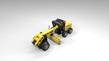 Набор LEGO MOC-5940 Mini Road Grader