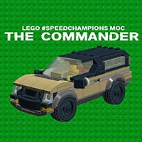 Набор LEGO MOC-5962 The Commander