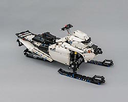 Набор LEGO MOC-5979 LEGO Technic Snowmobile With SBrick