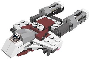 Набор LEGO MOC-6005 75032 Y-Wing like fighter