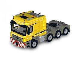 Набор LEGO MOC-6074 Mercedes-Benz Actros 4165 MP3 - Nooteboom