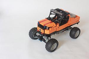 Набор LEGO MOC-6089 Speed Off Road Truck