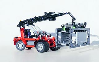 Набор LEGO MOC-6104 Reach stacker