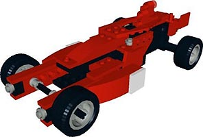 Набор LEGO MOC-6110 Alternate for 8362 Ferrari F1 Racer