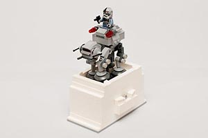 Набор LEGO MOC-6121 Kinetic Base for Microfighter AT-AT