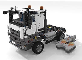 Набор LEGO MOC-6228 42043 B Mercedes Benz Arocs 1845 - Advanced and RC