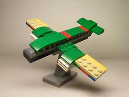 Набор LEGO MOC-6248 31056 Commercial Airplane