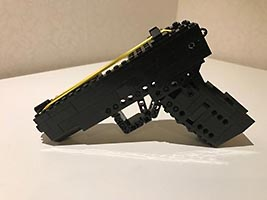 Набор LEGO MOC-6256 Rubber Band Gun Glock 17 with magazine