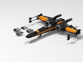 Набор LEGO MOC-6394 Custom Star Wars T-70 X-Wing