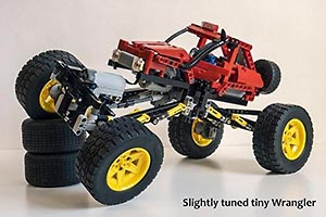 Набор LEGO MOC-6399 Slightly Tuned Tiny Wrangler