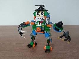 Набор LEGO MOC-6490 LEGO MIXELS SERIES 9 MEGA MAX MOC Instructions