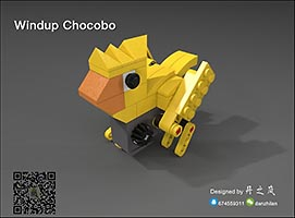 Набор LEGO MOC-6700 Windup Chocobo