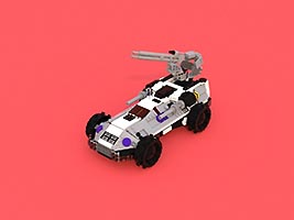 Набор LEGO MOC-6765 Mobile Armored Turret - MAT-1