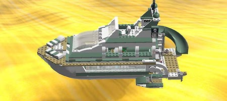 Набор LEGO MOC-6766 The Yacht (For Boys)