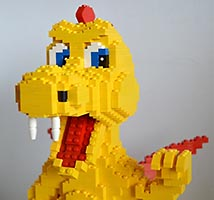 Набор LEGO MOC-6892 Yellow Dragon
