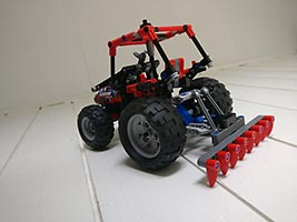 Набор LEGO MOC-6908 Plow for 8048-B