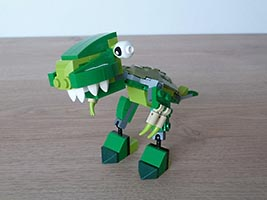 Набор LEGO MOC-7194 LEGO MIXELS SERIES 10 MOC Instructions T REX DINOSAURZ Tribe